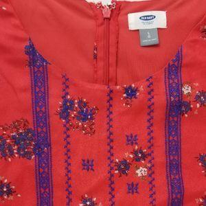 Old Navy Boho 3/4 sleeve Tunic Dress